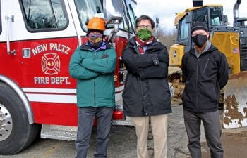 Alfandre Architecture Team At New Paltz Firehouse Jobsite