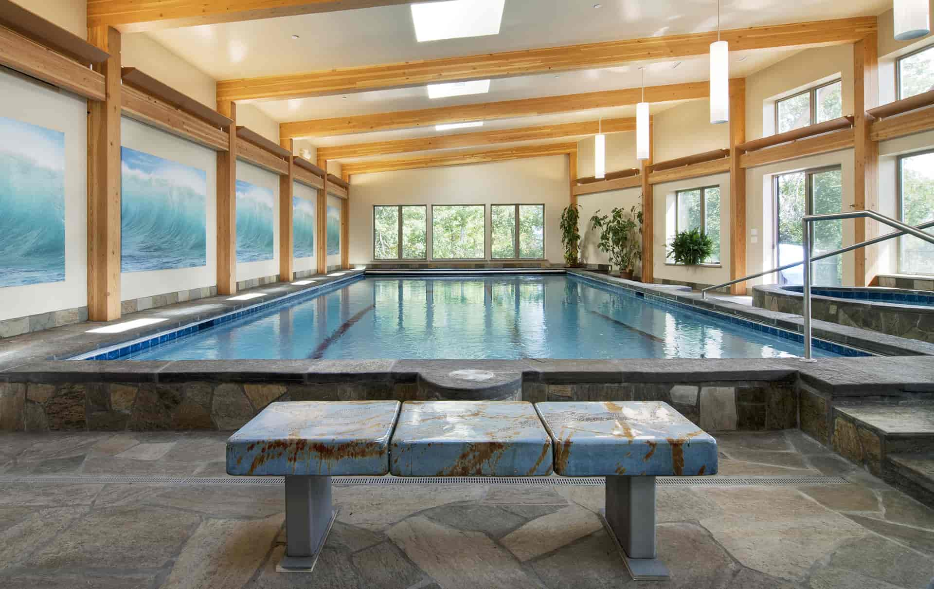 Super insulated indoor pool