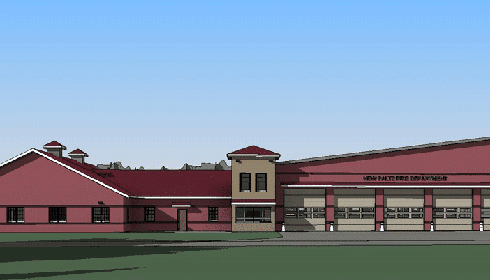 New Paltz Firehouse Architectural Rendering