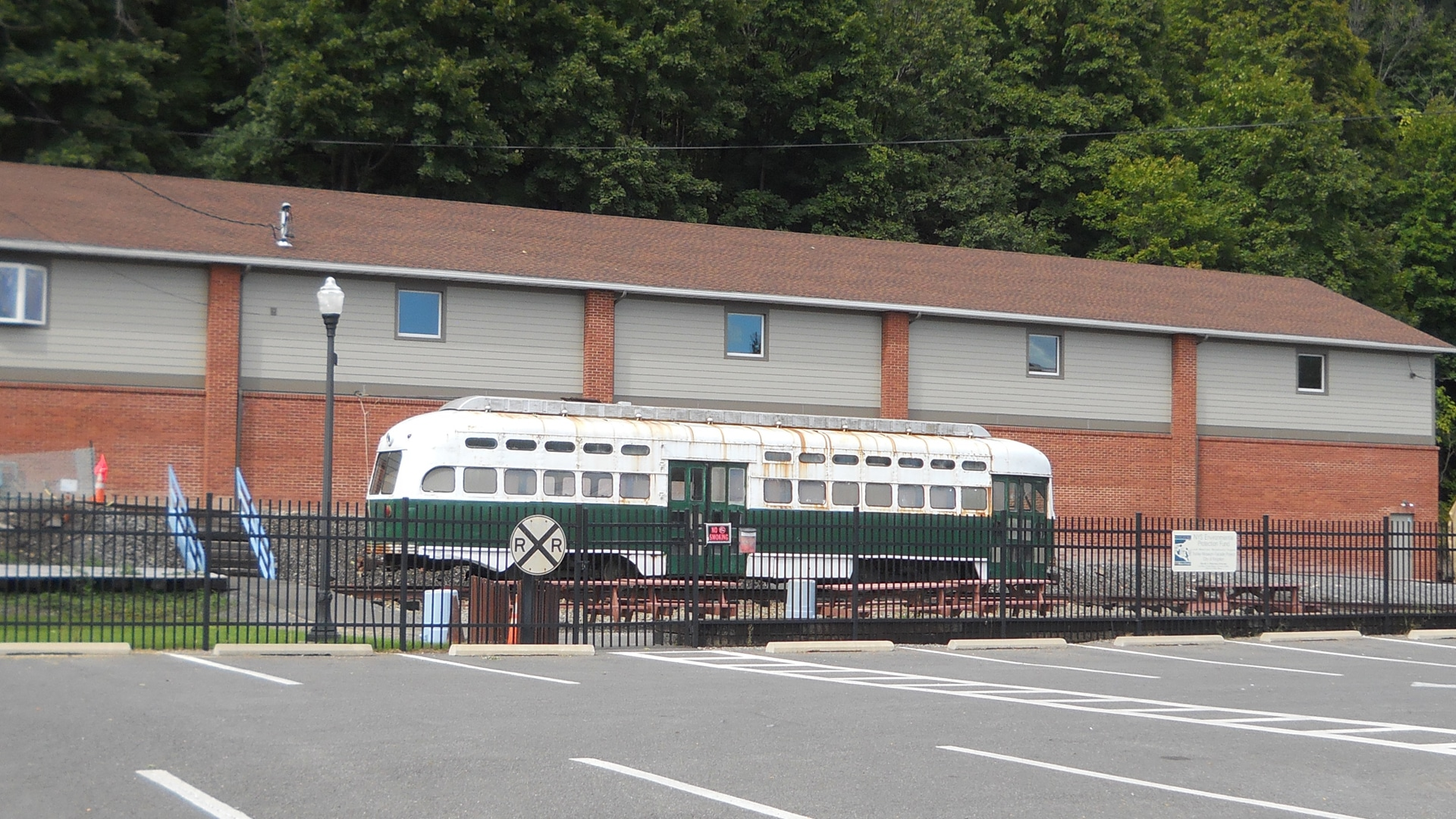 Trolley Museum after renovation