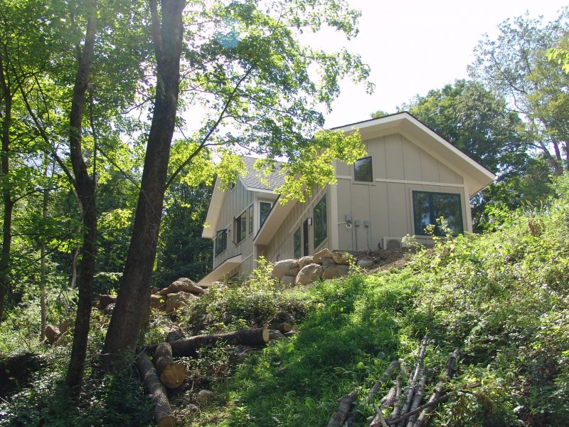Energy Star Home in Warwick Ny, nestled in the woods.