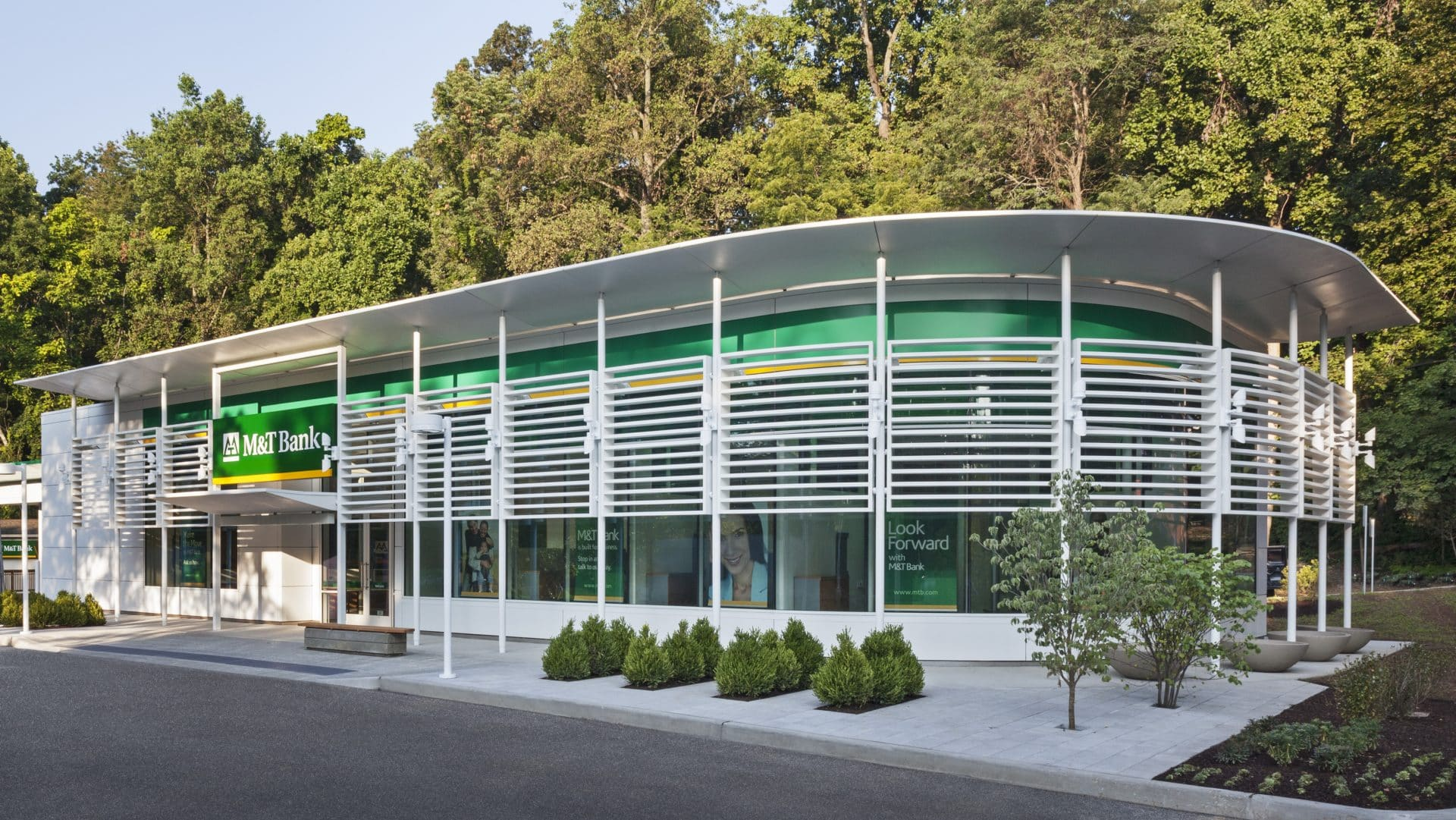 Exterior daylight image of M&T LEED Consulting Project.
