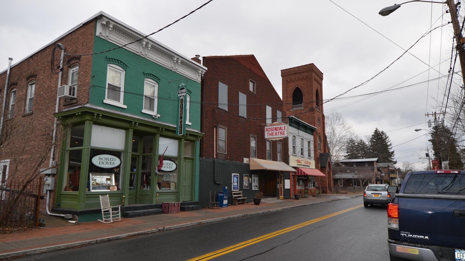Rosendale Theatre Street View